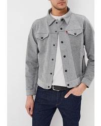 Мужская серая куртка-рубашка от Levi's