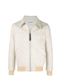 Мужская серая куртка-рубашка от Loewe