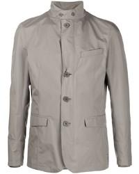 Серая полевая куртка от Herno