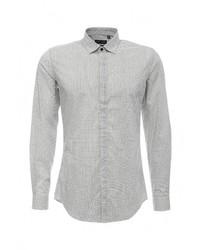 Мужская серая рубашка с длинным рукавом от Antony Morato