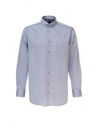 Мужская серая рубашка с длинным рукавом от Berthier