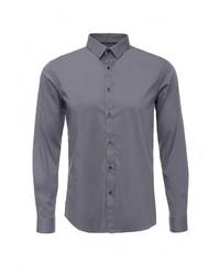 Мужская серая рубашка с длинным рукавом от Celio