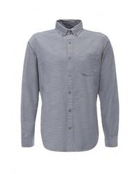 Мужская серая рубашка с длинным рукавом от Gap