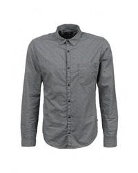 Мужская серая рубашка с длинным рукавом от s.Oliver Denim