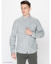 Мужская серая рубашка с длинным рукавом от s.Oliver
