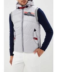 Мужская серая стеганая куртка без рукавов от Stayer