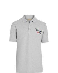 Купить мужскую серую футболку-поло Burberry в интернет-магазине ... 3f083c575f7