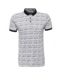 Мужская серая футболка-поло от Bellfield