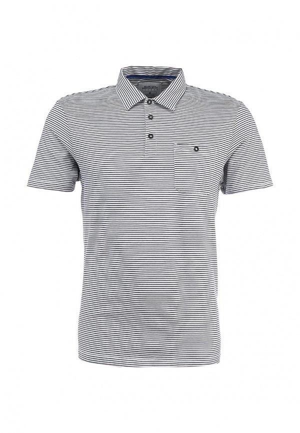 Мужская серая футболка-поло от Burton Menswear London
