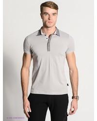 Мужская серая футболка-поло от HAMAKI-HO