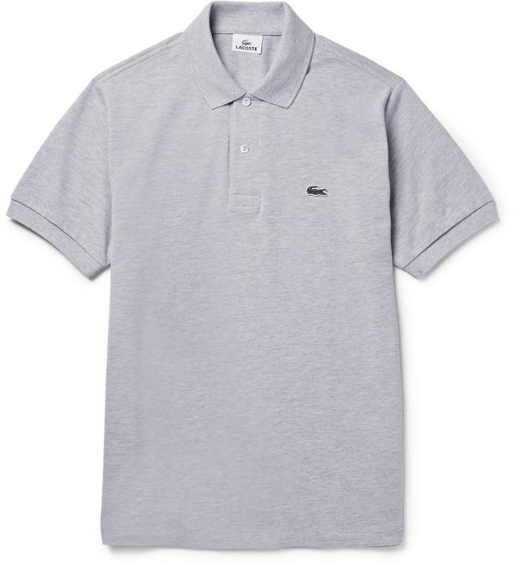 d8ed7714f22e Мужская серая футболка-поло от Lacoste   Где купить и с чем носить