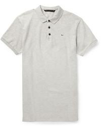 Мужская серая футболка-поло от Marc by Marc Jacobs