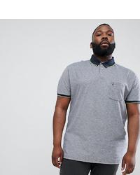 Мужская серая футболка-поло от north 56 4