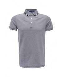 Мужская серая футболка-поло от Tommy Hilfiger