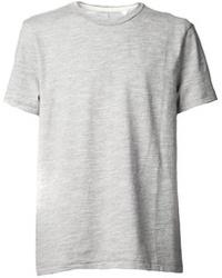 Серая футболка с круглым вырезом