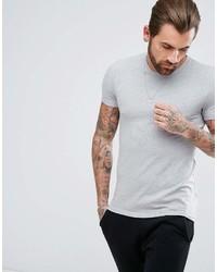 Мужская серая футболка с круглым вырезом от Asos