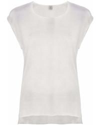 Женская серая футболка с круглым вырезом от Eleventy
