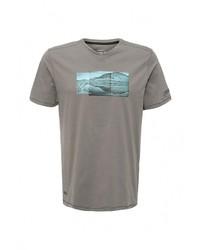 Мужская серая футболка с круглым вырезом от Regatta