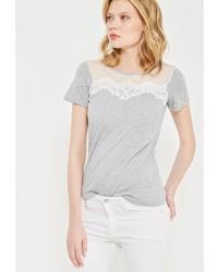 Женская серая футболка от Dorothy Perkins