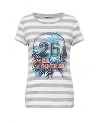 Женская серая футболка от Sela