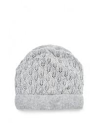 Женская серая шапка от Baon