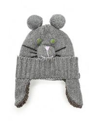 Женская серая шапка от BeaYukMui
