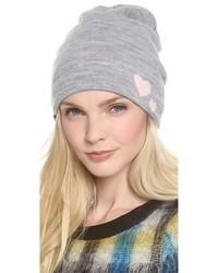 Женская серая шапка от Plush