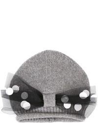 Детская серая шапка для девочке от Simonetta