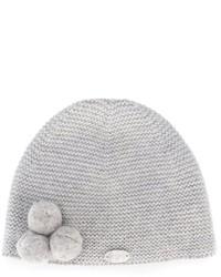 Детская серая шапка для девочке от Tartine et Chocolat