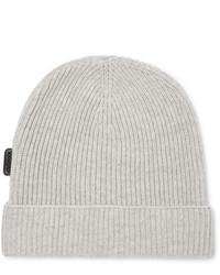Мужская серая шапка от Tom Ford