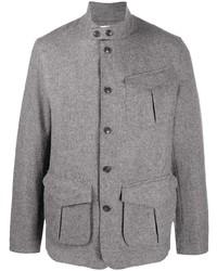 Серая шерстяная полевая куртка от Barbour