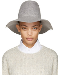 Женская серая шерстяная шляпа от CLYDE