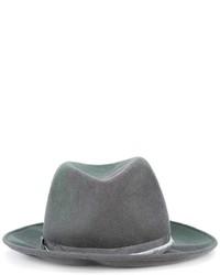 Женская серая шерстяная шляпа от Forte Forte