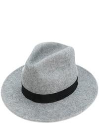 Женская серая шляпа от Dsquared2