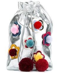 Детская серебряная сумка для девочке от Simonetta