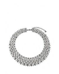 Женское серебряное колье от Diva