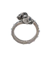 Серебряное кольцо от Alexander McQueen