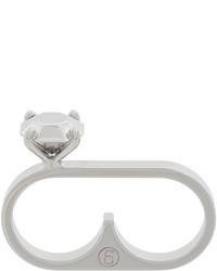 Серебряное кольцо от MM6 MAISON MARGIELA