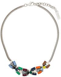 Серебряное ожерелье-чокер с украшением от Rada'