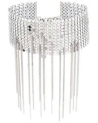 Серебряное ожерелье-чокер от MM6 MAISON MARGIELA