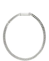 Серебряное ожерелье-чокер от Saskia Diez