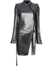 Серебряное пальто