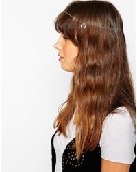 Серебряное урашение для волос от Asos