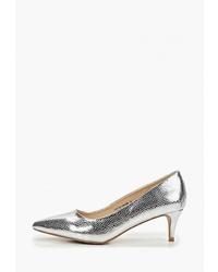 Серебряные кожаные туфли от LOST INK