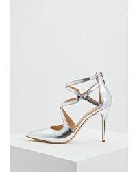 Серебряные кожаные туфли от MICHAEL Michael Kors