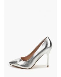 Серебряные кожаные туфли от T.Taccardi