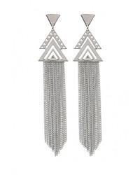 Женские серебряные серьги от Mango