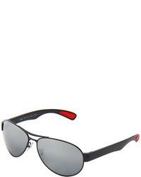 Серебряные солнцезащитные очки