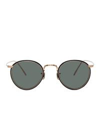 Мужские серебряные солнцезащитные очки от Eyevan 7285