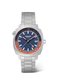 Мужские серебряные часы от Bamford Watch Department